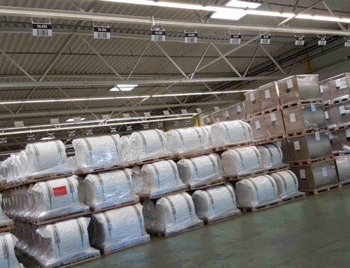 Etiketten und Schilder für Umstellung auf digitale Lagerverwaltung bei Folienspezialisten