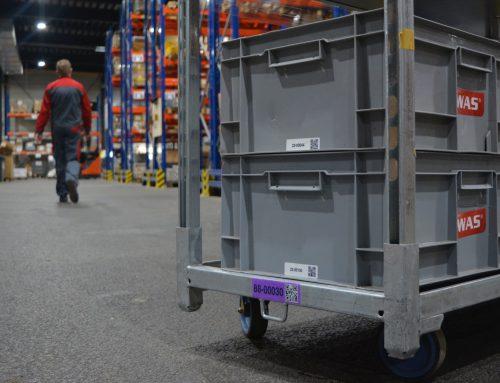 Ehemalige Kartbahn zum Logistikzentrum umgebaut