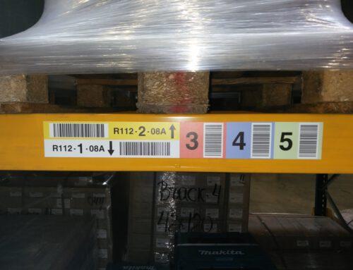 Flexible Kennzeichnungen für dynamische Lagerhaltung